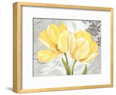 Colori Yellow II-Pamela Gladding-Framed Art Print