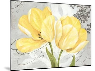 Colori Yellow II-Pamela Gladding-Mounted Art Print