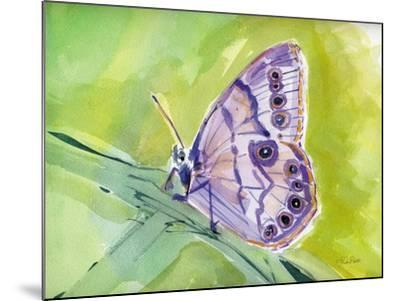 Watercolor Butterfly IV-LuAnn Roberto-Mounted Art Print