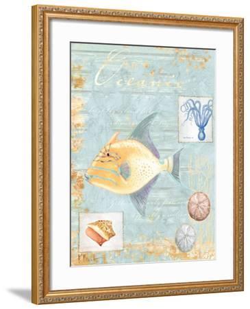 Oceanic-Paul Brent-Framed Art Print