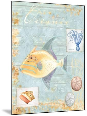 Oceanic-Paul Brent-Mounted Art Print