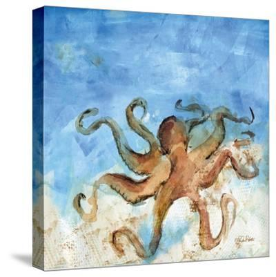 Ocean Octopus-LuAnn Roberto-Stretched Canvas Print