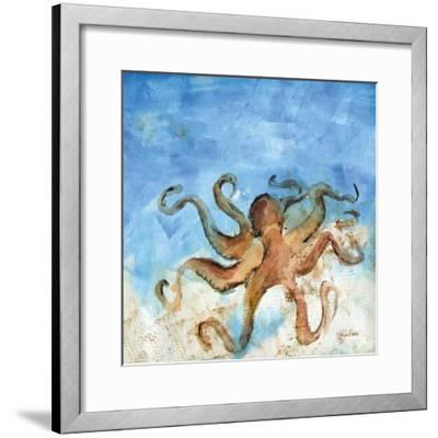 Ocean Octopus-LuAnn Roberto-Framed Art Print