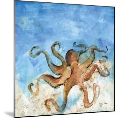Ocean Octopus-LuAnn Roberto-Mounted Art Print
