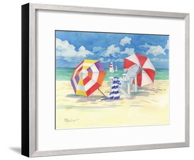 Sunnyside Beach-Paul Brent-Framed Art Print