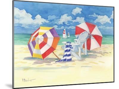 Sunnyside Beach-Paul Brent-Mounted Art Print