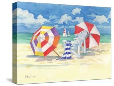 Sunnyside Beach-Paul Brent-Stretched Canvas Print