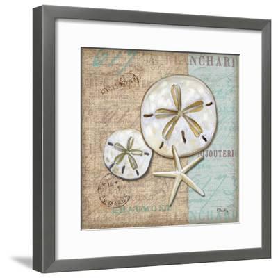 Linen Shells II-Paul Brent-Framed Art Print