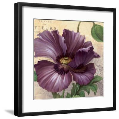 Purple Garden I-Pamela Gladding-Framed Art Print