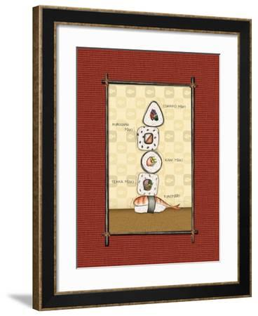 Sushi I-Andrea Laliberte-Framed Art Print