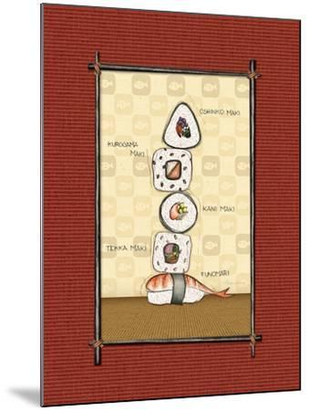 Sushi I-Andrea Laliberte-Mounted Art Print