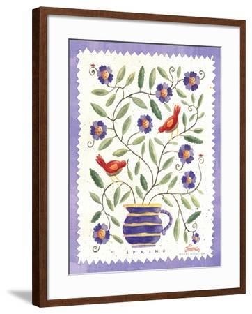 Four Seasons II-Sudi Mccollum-Framed Art Print