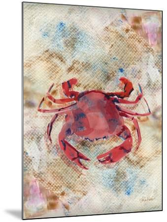 Red Crab-LuAnn Roberto-Mounted Art Print