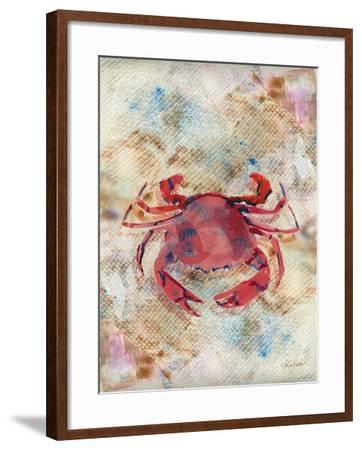 Red Crab-LuAnn Roberto-Framed Art Print