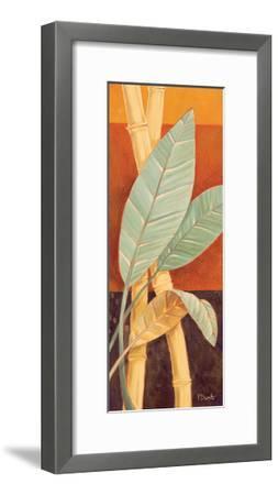 Bali Leaves I-Paul Brent-Framed Art Print