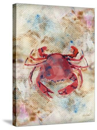 Red Crab-LuAnn Roberto-Stretched Canvas Print