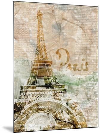 Sepia Paris-LuAnn Roberto-Mounted Art Print