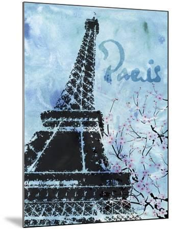 Blue Paris-LuAnn Roberto-Mounted Art Print