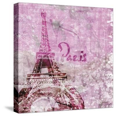 Lavender Paris-LuAnn Roberto-Stretched Canvas Print