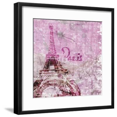 Lavender Paris-LuAnn Roberto-Framed Art Print