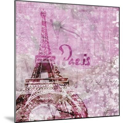 Lavender Paris-LuAnn Roberto-Mounted Art Print