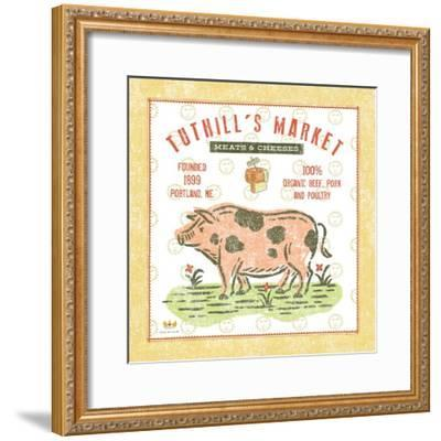 Tuthill Pig-Sudi Mccollum-Framed Art Print