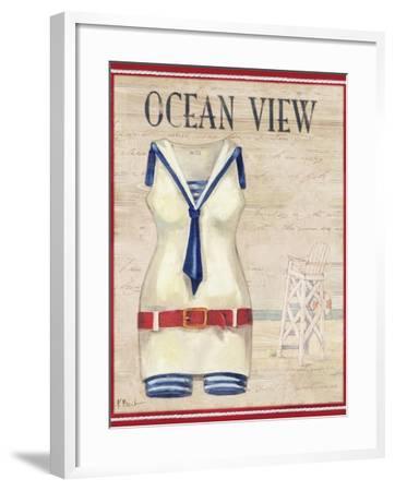 Ocean View-Paul Brent-Framed Art Print