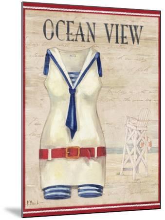 Ocean View-Paul Brent-Mounted Art Print