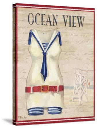 Ocean View-Paul Brent-Stretched Canvas Print