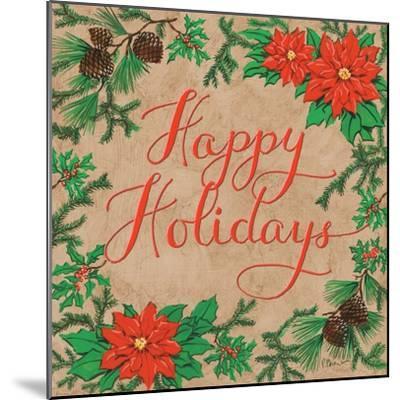 Happy Holidays-Paul Brent-Mounted Art Print