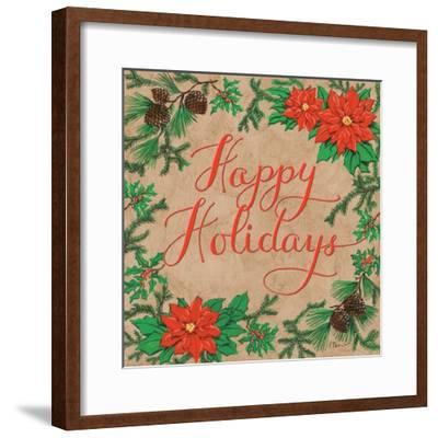 Happy Holidays-Paul Brent-Framed Art Print