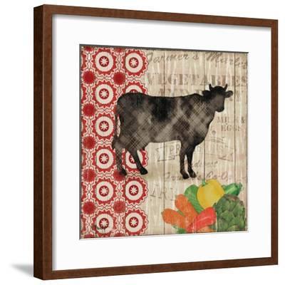 Farmer's Market III-Paul Brent-Framed Art Print