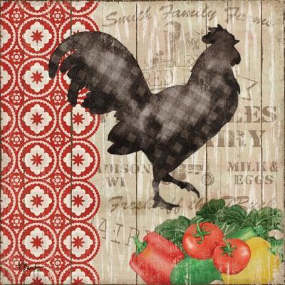 Farmer's Market I-Paul Brent-Framed Art Print