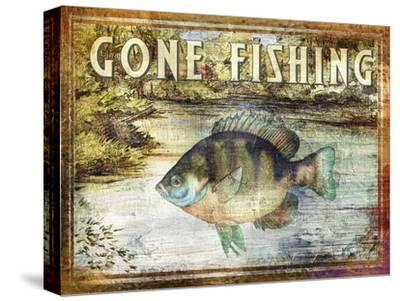 Gone Fishing-Paul Brent-Stretched Canvas Print
