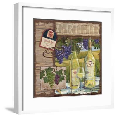 Wine Country Collage I-Paul Brent-Framed Art Print