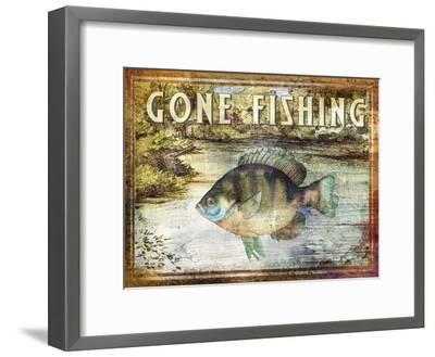 Gone Fishing-Paul Brent-Framed Art Print