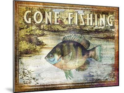 Gone Fishing-Paul Brent-Mounted Art Print