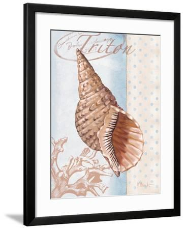 Beachhouse Blue II-Paul Brent-Framed Art Print