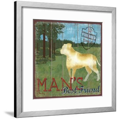 Dog Days IV-Paul Brent-Framed Art Print