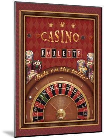 Roulette-Daphne Brissonnet-Mounted Art Print
