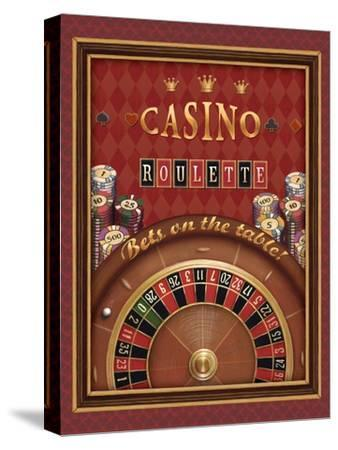 Roulette-Daphne Brissonnet-Stretched Canvas Print