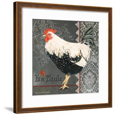 French Rooster II-Gwendolyn Babbitt-Framed Art Print