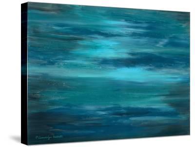 Ocean Colors I-Gwendolyn Babbitt-Stretched Canvas Print