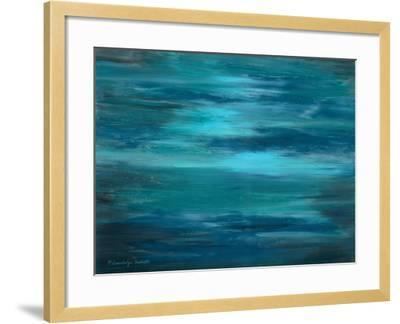 Ocean Colors I-Gwendolyn Babbitt-Framed Art Print