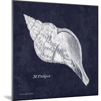 Indigo Shell III-Gwendolyn Babbitt-Mounted Art Print