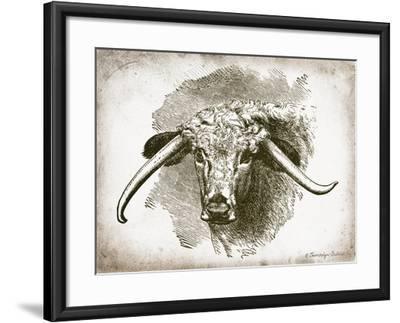 Cow Face II Art Print by Gwendolyn Babbitt | Art com