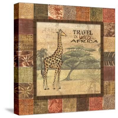 Safari I-Charlene Audrey-Stretched Canvas Print