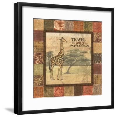 Safari I-Charlene Audrey-Framed Art Print