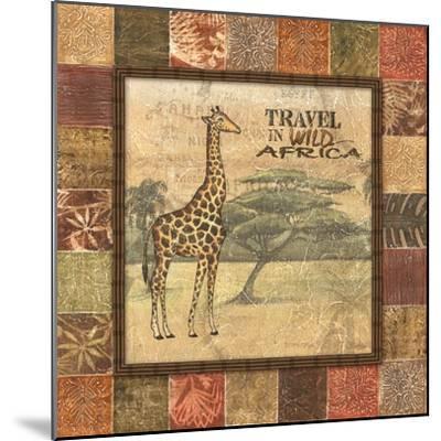 Safari I-Charlene Audrey-Mounted Art Print