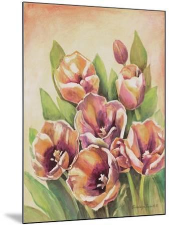 Purple Tulips II-Gwendolyn Babbitt-Mounted Art Print